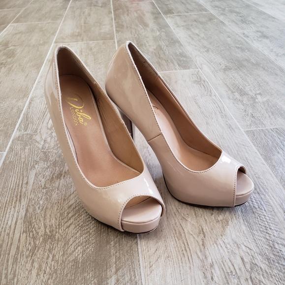49608398003 Diba London Peep Toe Heels
